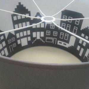 Lamp Grachtenhuizen Amsterdam_detail