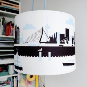 Lamp Rotterdam blauw ANNIdesign sfeer