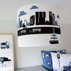 Lamp Rotterdam jeans blauw ANNIdesign 01