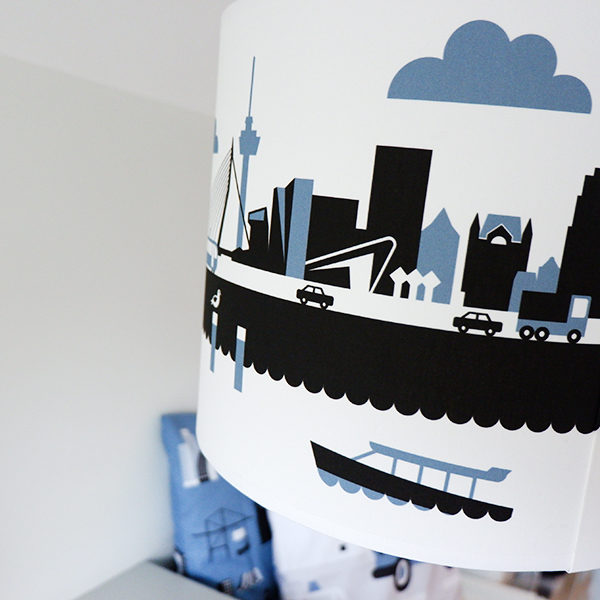 Lamp Rotterdam jeans blauw ANNIdesign 02