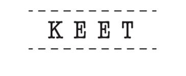 Logo KEET, conceptstore in Rotterdam