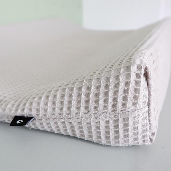 Aankleedkussenhoes Basic grijs ANNIdesign 02