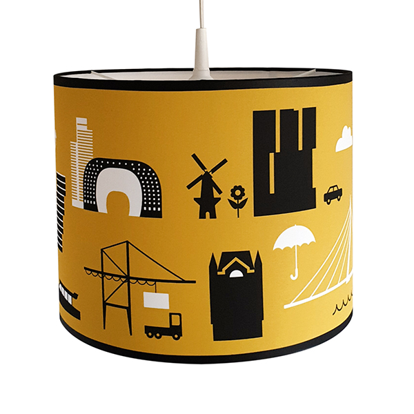 Lamp Rotterdam Iconen oker geel ANNIdesign 03