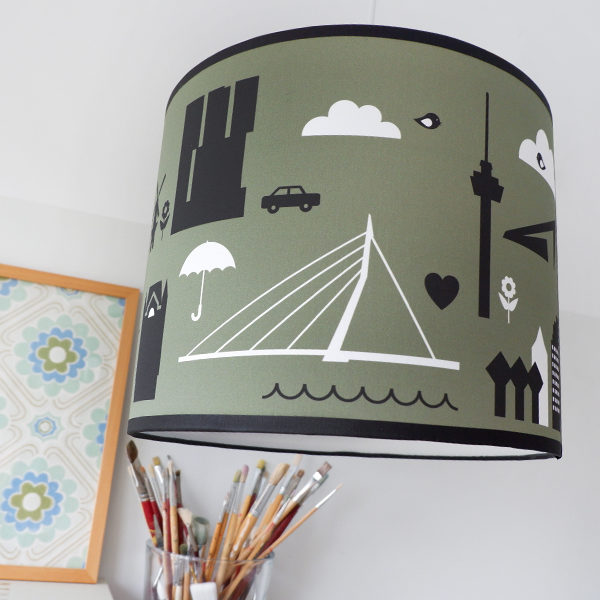 Lamp Rotterdam Iconen olijf groen ANNIdesign 01