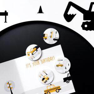 Magneet Voertuigen oker ANNIdesign 01