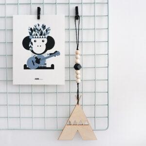 Hanger Tipi zwart ANNIdesign 01
