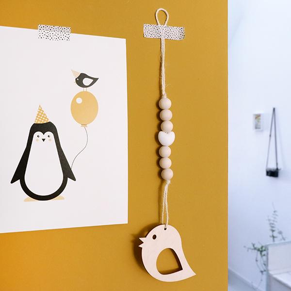 Hanger Vogel wit ANNIdesign 01