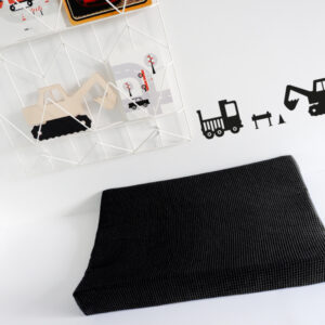 Aankleedkussenhoes Basic zwart ANNIdesign 01