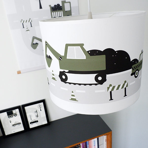 Lamp Voertuigen olijf groen_ANNIdesign_01