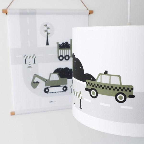 Lamp Voertuigen olijf groen_ANNIdesign_02