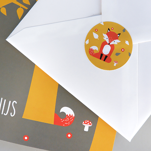 Sluitsticker Vos oker geel_ANNIdesign_03