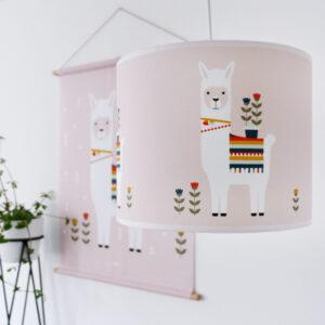 Lamp Lama oud roze ANNIdesign 03