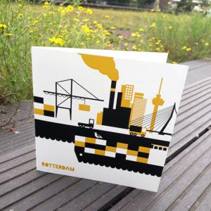 Wenskaart Rotterdam ANNIdesign Wereldhaven 01