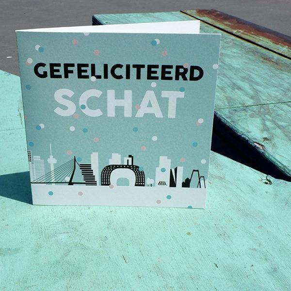 Wenskaart Rotterdam Gefeliciteerd Schat_ANNIdesign_01