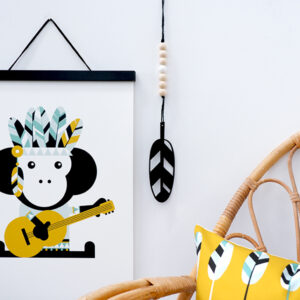 Hanger Veer zwart ANNIdesign 03