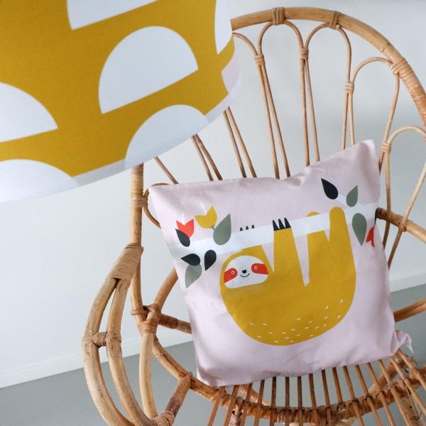 Kussen Jungle oud roze ANNIdesign 03