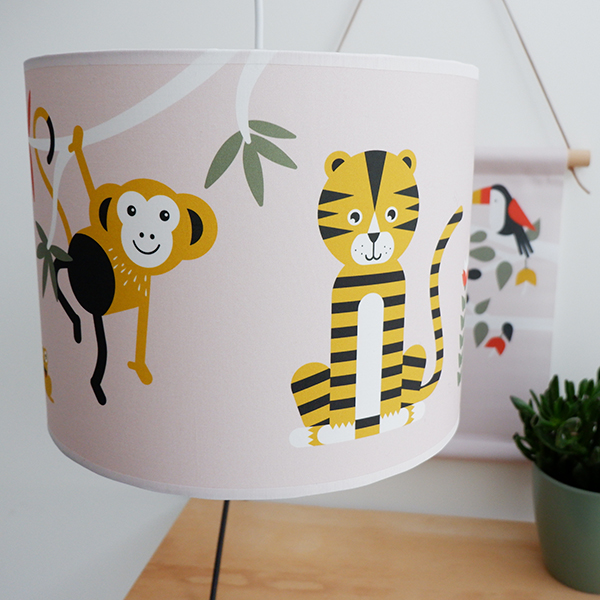 Lamp Jungle oude roze_ANNIdesign_01