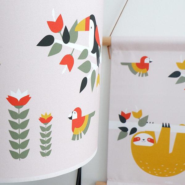 Lamp Jungle oude roze_ANNIdesign_02
