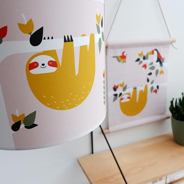 Lamp Jungle oude roze_ANNIdesign_03
