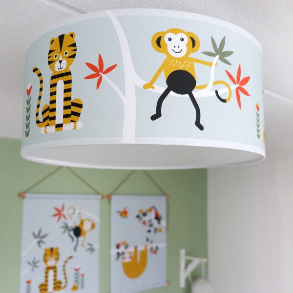 Plafondlamp Jungle old green_ANNIdesign_sfeer 01