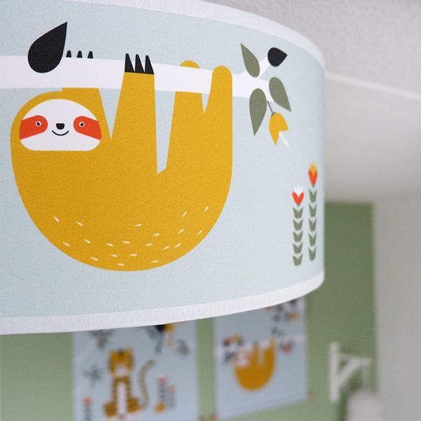 Plafondlamp Jungle old green_ANNIdesign_sfeer 03
