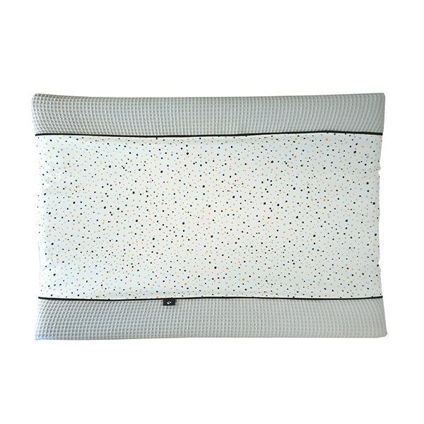 Aankleedkussenhoes Confetti_ANNIdesign_grijs