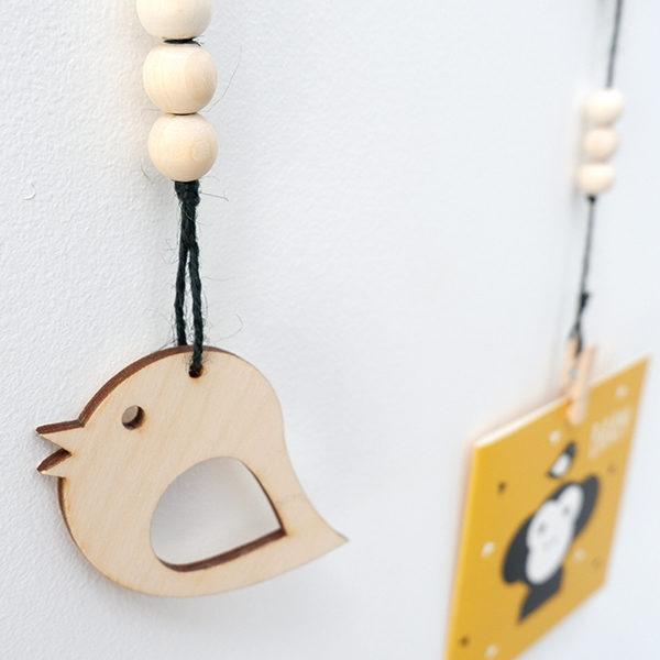 Hanger Vogel zwart ANNIdesign 02