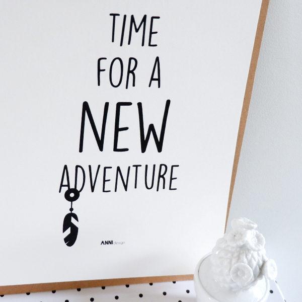 Poster black&white_Adventure_ANNIdesign_02