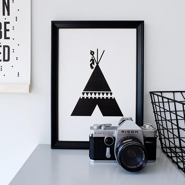 Poster black&white_Tipi_ANNIdesign_01