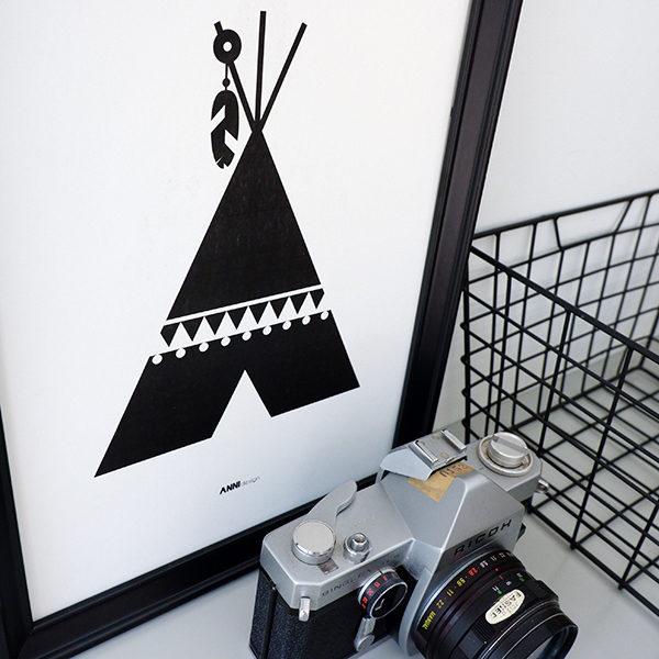Poster black&white_Tipi_ANNIdesign_02