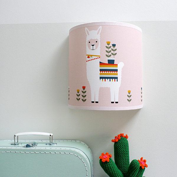 Wandlamp Lama oud roze_ANNIdesign 01