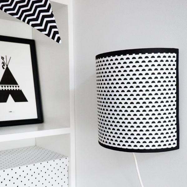 Wandlamp silhouet Tipi_Maantjes zwart_ANNIdesign 02