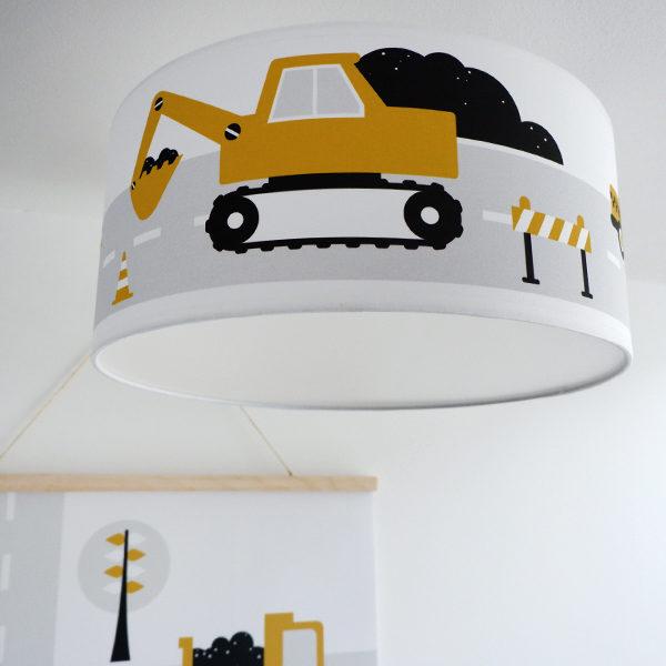 Plafondlamp Voertuigen oker_ANNIdesign 01