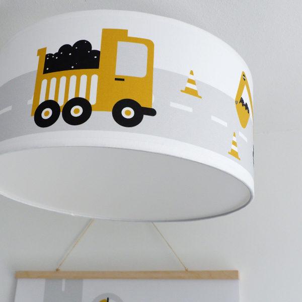 Plafondlamp Voertuigen oker_ANNIdesign 02