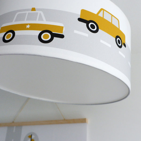 Plafondlamp Voertuigen oker_ANNIdesign 03