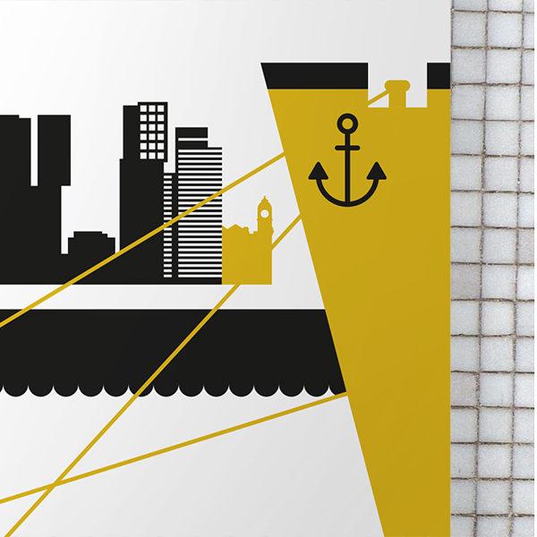 Poster Rotterdam Maas oker geel_ANNIdesign_02