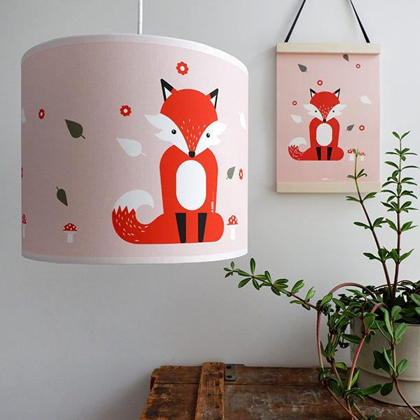 Lamp Vos_ANNIdesign_oud roze_01