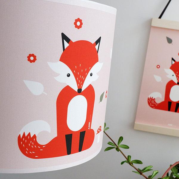 Lamp Vos_ANNIdesign_oud roze_02