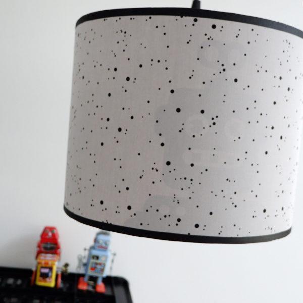 Lamp silhouet Robot_ANNIdesign_confetti op grijs_02