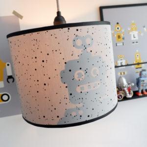 Lamp silhouet Robot_ANNIdesign_confetti op grijs_04