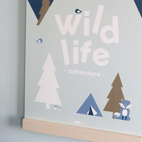 Poster Wild Life tekst_ANNIdesign_old green 02