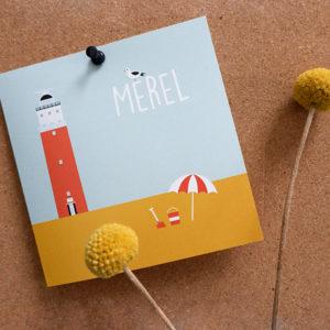 Geboortekaart Texel_ANNIdesign_wadden strand_01