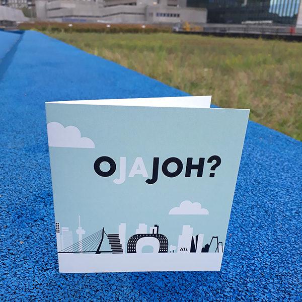Wenskaart O Ja Joh Rotterdam ANNIdesign 01