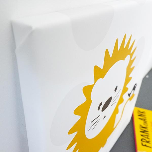 Canvas Leeuw met Stip ANNIdesign 02