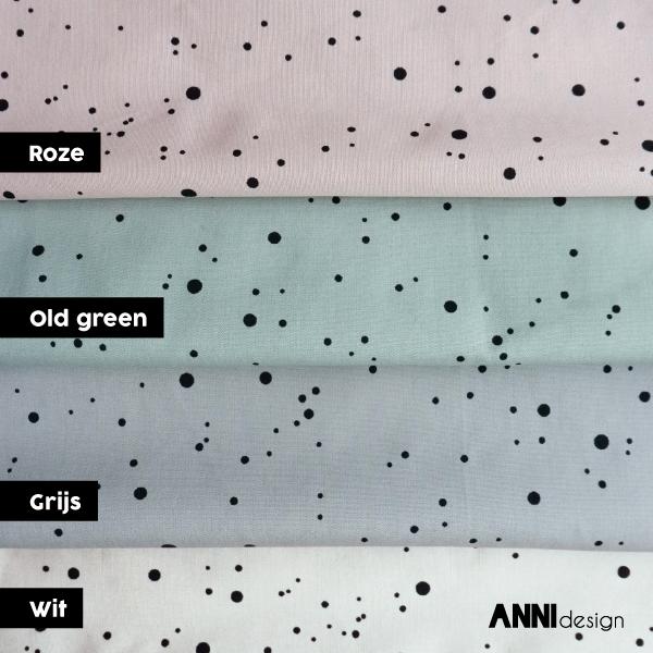 Confetti stof bij ANNIdesign