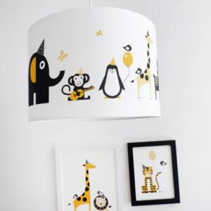 Lamp Feestbeesten ANNIdesign oker geel 01