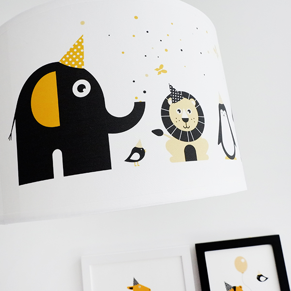 Lamp Feestbeesten ANNIdesign oker geel 02