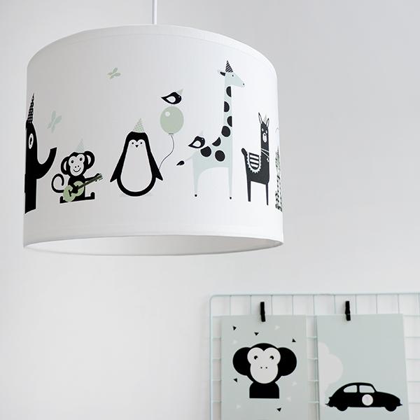 Lamp Feestbeesten old green ANNIdesign 01