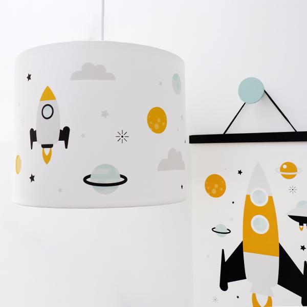 Lamp Raket ANNIdesign wit 01