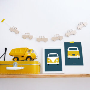 Slinger Auto hout wit ANNIdesign 03